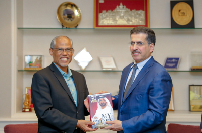 DEWA strengthens ties with the Singaporean Ministry of Environment & Water Resources