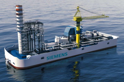 Siemens floating power plants will support New York's renewable energy strategy