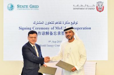 Abu Dhabi Department of Energy and the State Grid Corporation of China Set Stage for a New Phase of Cooperation