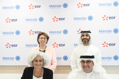 Masdar and EDF to establish joint venture energy services company