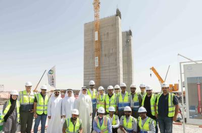 DEWA reviews construction of 4th phase of the Mohammed bin Rashid Al Maktoum Solar Park
