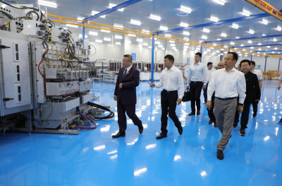 Hanergy Inaugurates the World's First Automated HanTile Production Line