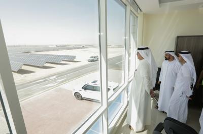 DEWA reviews construction of 3rd phase of Mohammed bin Rashid Al Maktoum Solar Park