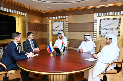 Abu Dhabi Explores Collaboration Opportunities in Energy Sector with Russian