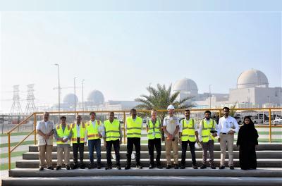 UAE's nuclear regulatory body reviews progress at Barakah nuclear plant