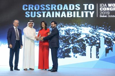 International Desalination Association honours DEWA's Al Tayer