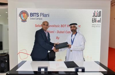 Etihad ESCO to install rooftop solar PV System at BITS Pilani Dubai Campus