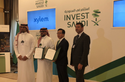 Xylem signs MoU with SAGIA worth $50mn to develop localised water products and technologies that address water challenges in Saudi Arabia