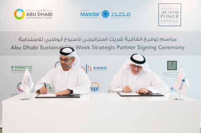 Abu Dhabi's ADPower partners with Masdar for Sustainability Week