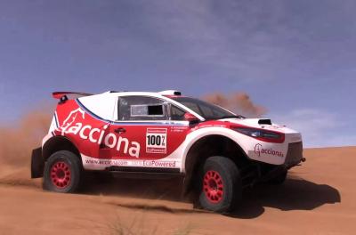 Acciona brings sustainable mobility to Saudi Arabia's first Dakar rally