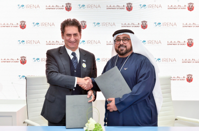 DoE enhances cooperation with IRENA in areas of energy efficiency and sustainability