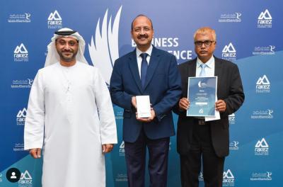 Utico bags UAE excellence award