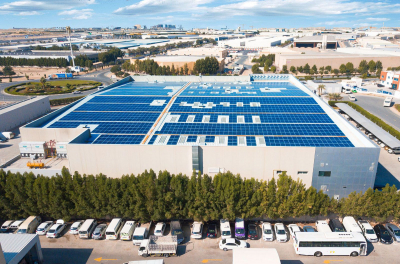 Dubai's Le Chocolat and Greenhouse Foodstuff Trading switches to solar lease