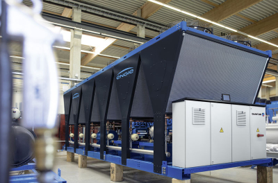 ENGIE Refrigeration concentrates production of  CO2 high-temperature heat pumps at head office in Lindau