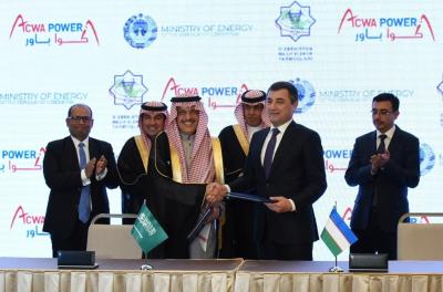 Saudi's ACWA Power signs $2.5bn deals to strengthen Uzbekistan's energy