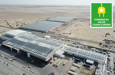 Mai Dubai's fully automated facility continues to run at full production capacity