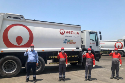 Veolia provides clean water in fight against Covid-19
