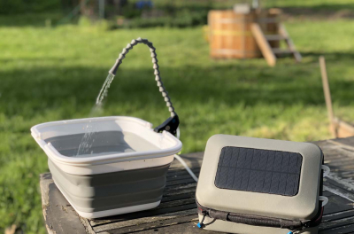 GoSun releases world's first portable solar-powered water purifier and sanitation system
