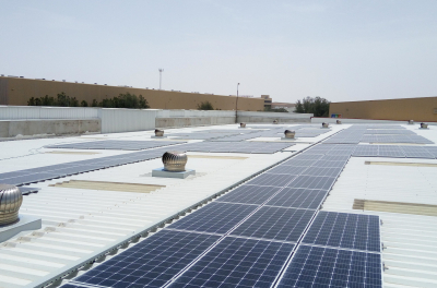 SirajPower appointed as a new solar partner by Danube Group