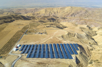 Yellow Door Energy Commissions Solar Park for Jordan's Jabri Restaurant
