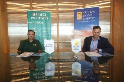 Green goes greener: Hira Walraven signs solar contract with Yellow Door Energy