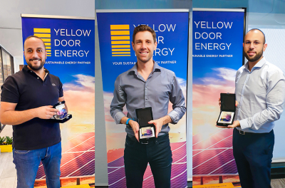 Yellow Door Energy reaches 110 megawatts of solar milestone