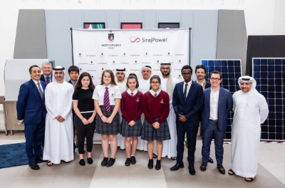 Kent College Dubai goes Solar with SirajPower and contributes to educating the next generation on sustainability