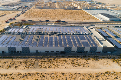 Yellow Door Energy launches massive solar carport and rooftop solar plant for Al Nabooda Automobiles