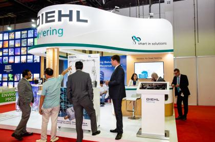 Best of Wetex: Diehl drives smart water