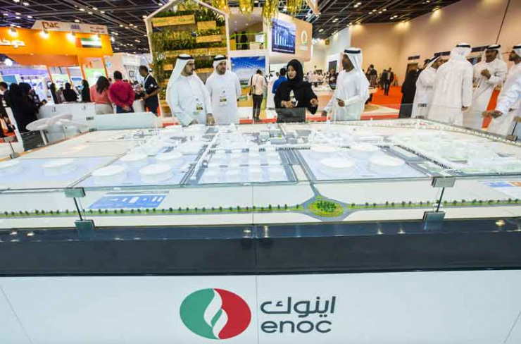 ENOC champions efficiency at WETEX 2017