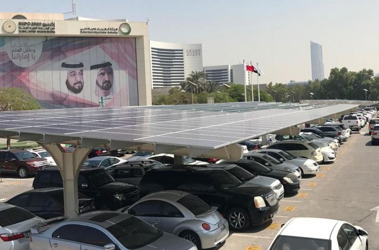 Solar carport will facilitate electric vehicle charging