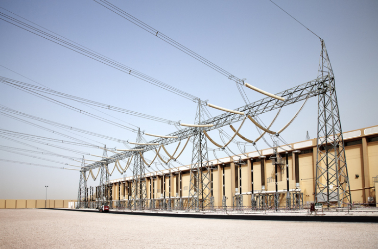 Mohammed Bin Rashid Al Maktoum Solar Park substation