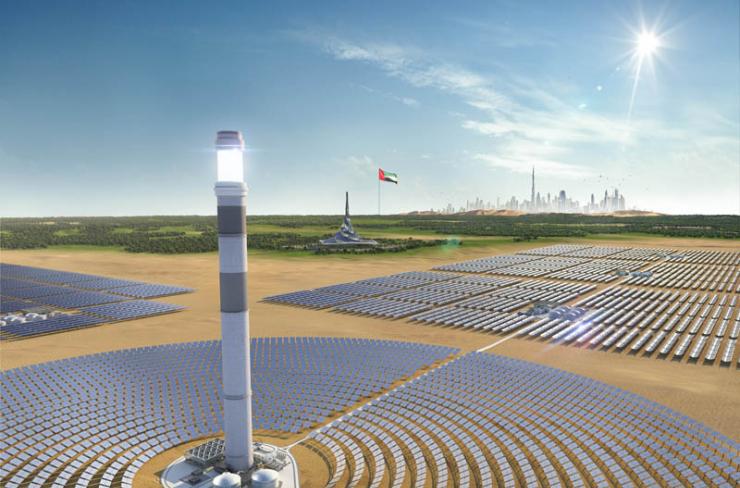 CSP plant Dubai
