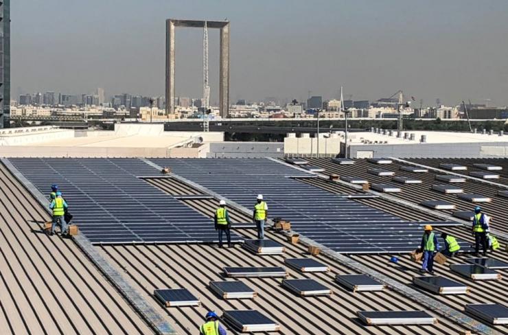 DWTC rooftop solar