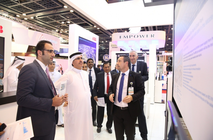 Visitors at a previous WETEX show