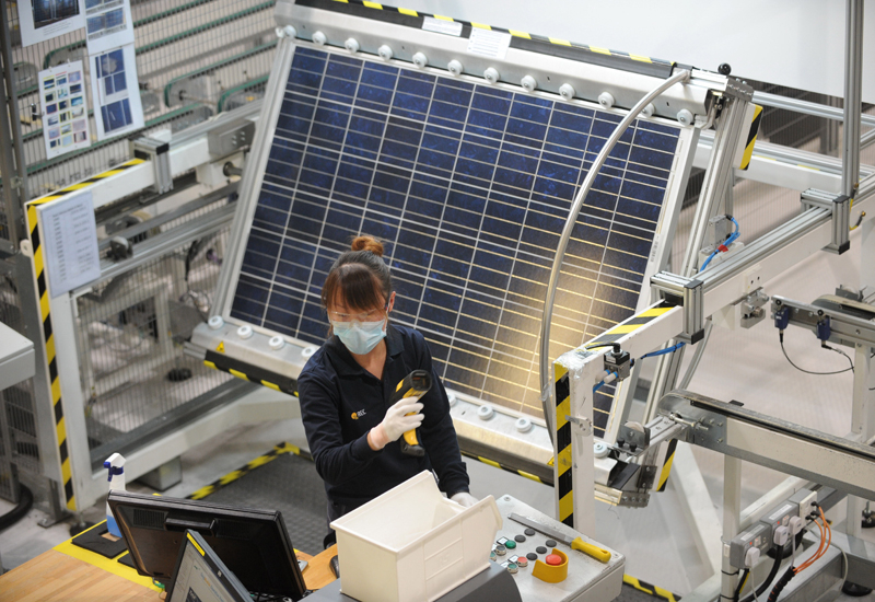 Solar panel costs are plummeting