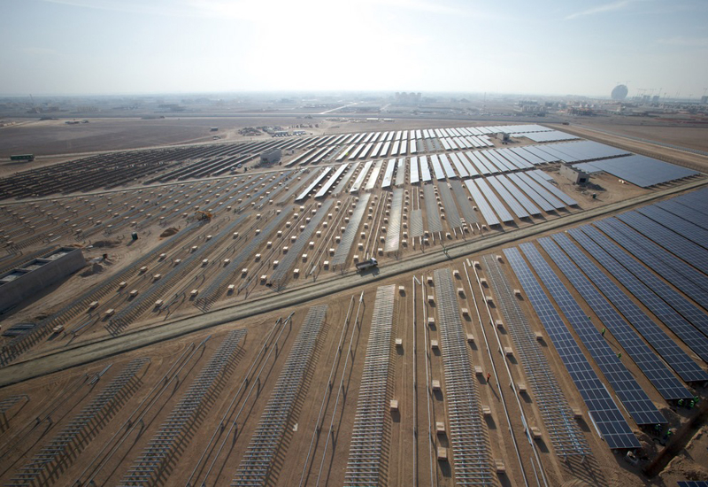 Photovoltaic power and wind farm projects will be showscased at the World Future Energy Summit in Abu Dhabi.