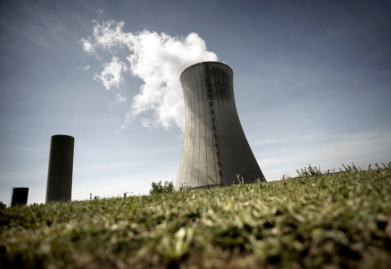 A nuclear cooling tower