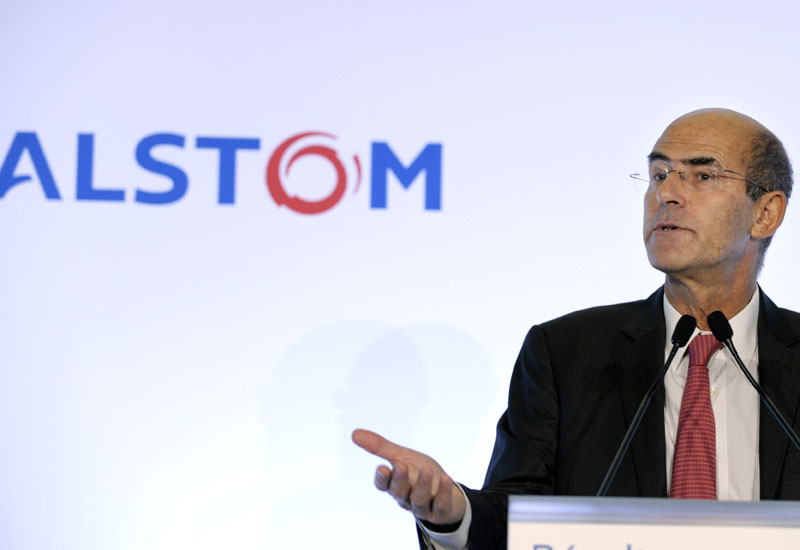 Patrick Kron, Chairman and CEO of Alstom.