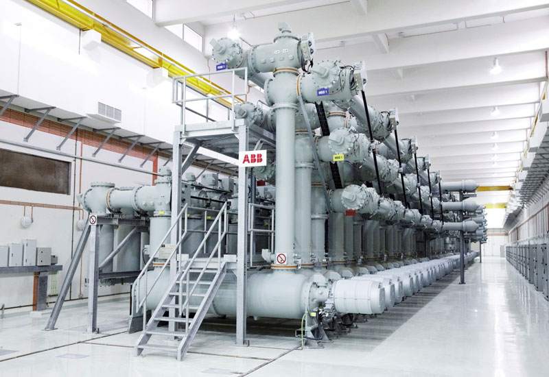 The GIS switchgear will help support the grid integration of a new 2.5GW power plant.