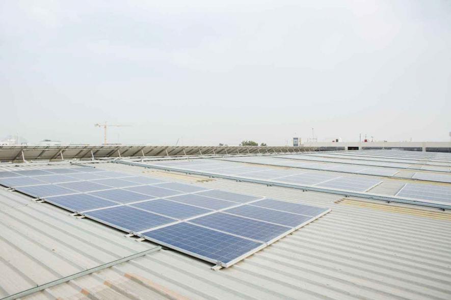 ABB, Dubai, Rooftop, Solar, News