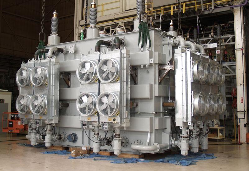 An ABB transformer.