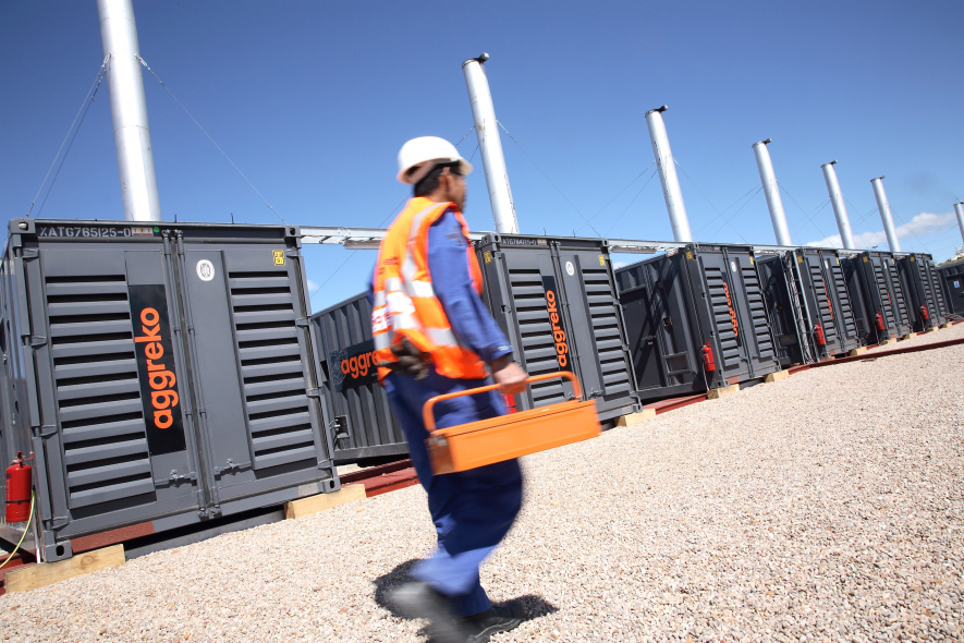 Aggreko is a leading provider of temporary power.