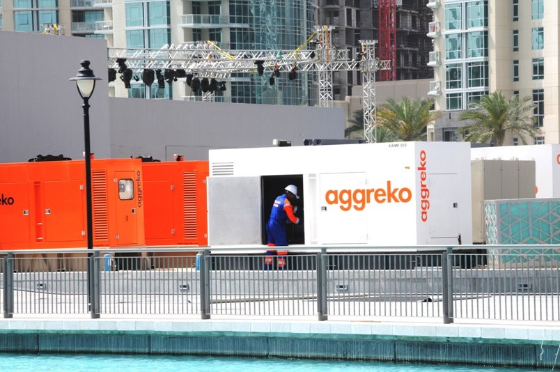 Aggreko's shares have fallen after a second warning on profits in the H2 2012.