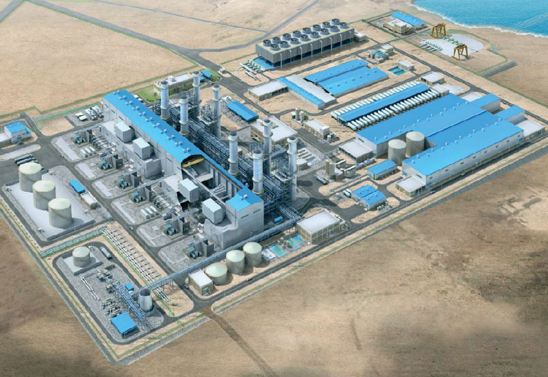 A rendering of Bahrain's Al-Dur project.