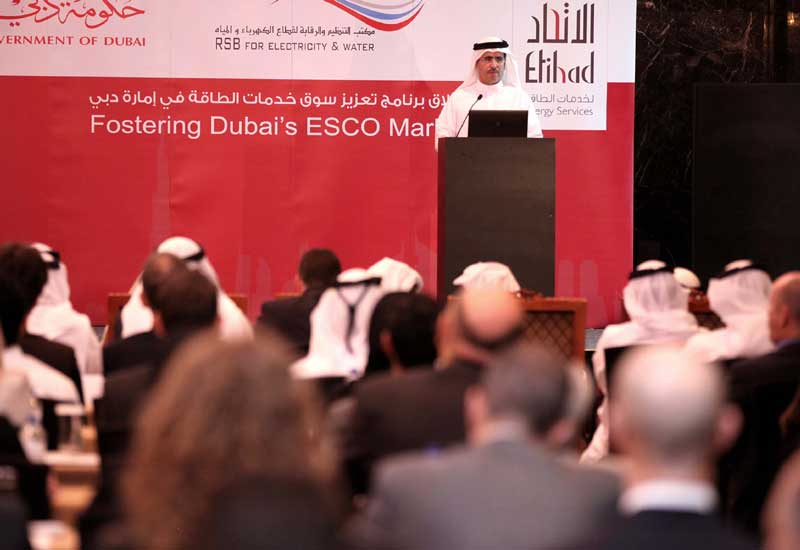 Saeed Mohammed Al Tayer, vice chairman, DSCE and MD and CEO, DEWA