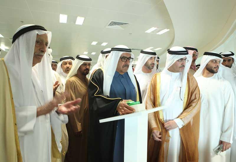 HH Sheikh Hamdan bin Rashid Al Maktoum, Deputy Ruler of Dubai, Minister of Finance, and President of DEWA opens DEWA?s Warsan Complex and Al Qusais Co