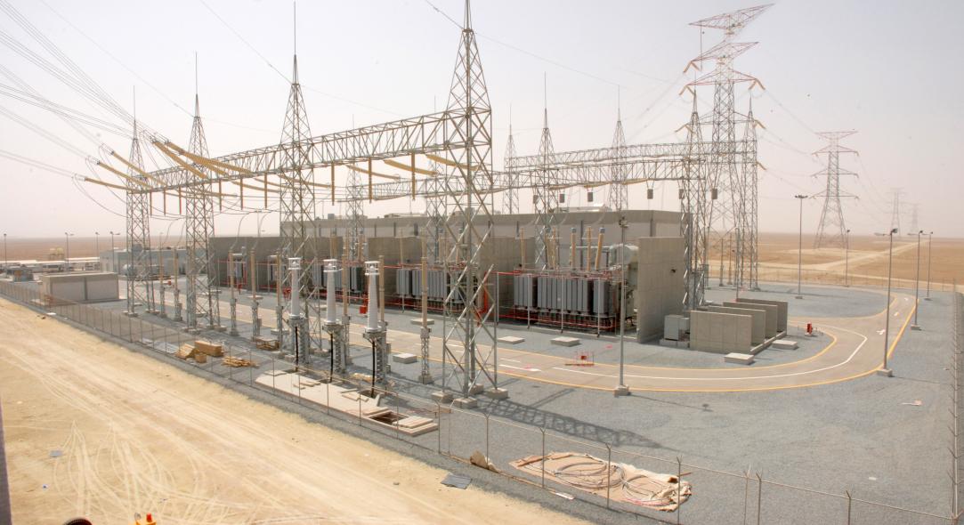 An ABB substation in Kuwait.