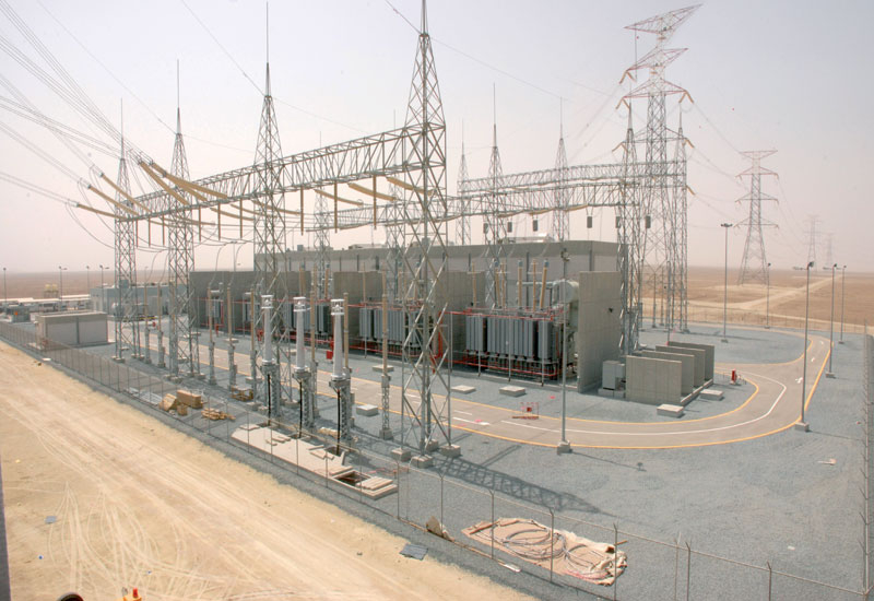 The 400kV Al Zour gas-insulated substation in Kuwait.