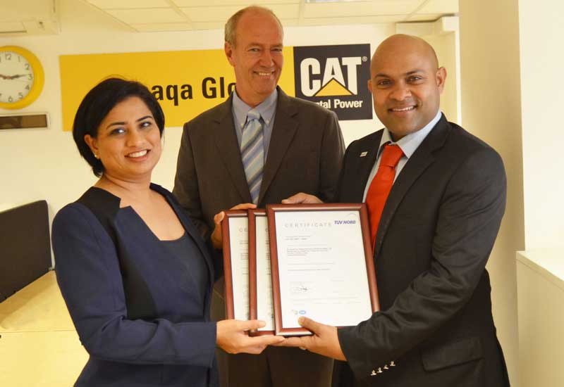 Altaaqa Global picks up its certifications.